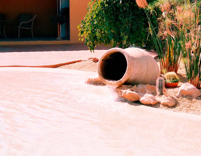 Construccion piscinas arena Granada