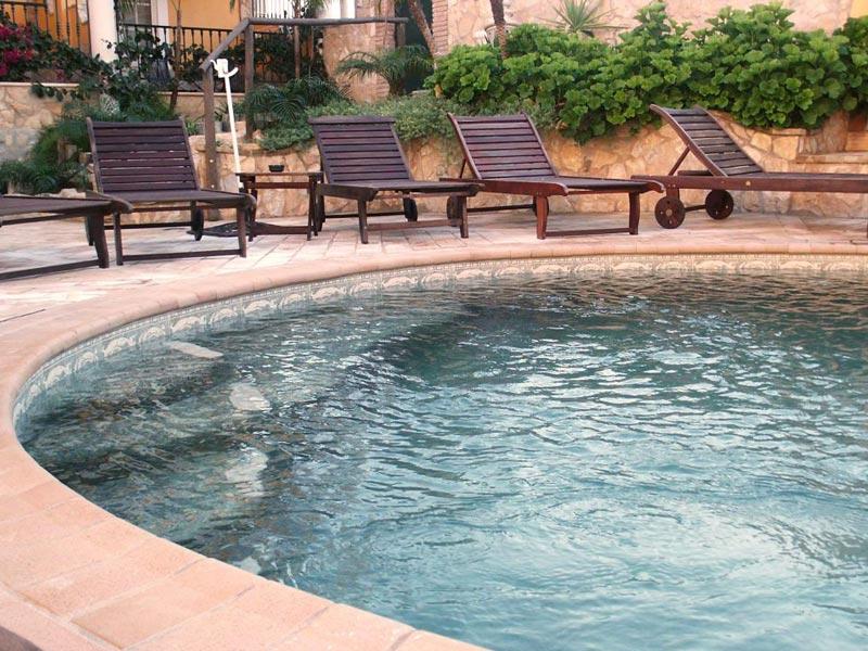 Construcción de piscinas con hormigón proyectado