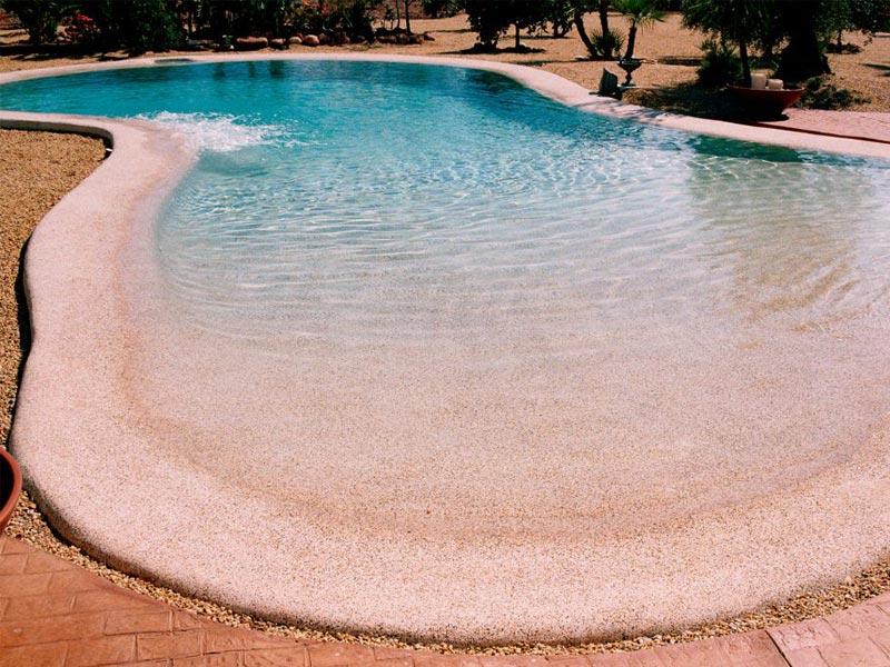 Piscinas de arena en Almería