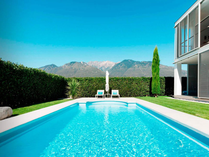 Construcción de piscinas de diseño