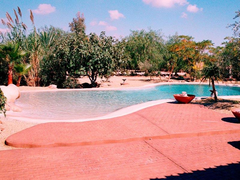 Construcción de piscinas de arena en Vícar